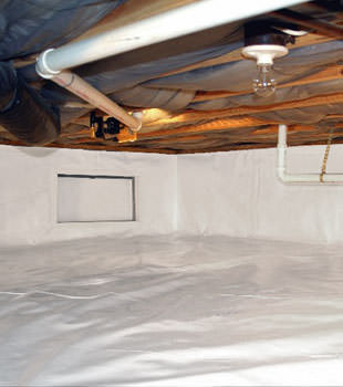 crawl space repair system in North Battleford