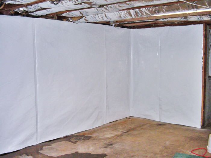 Basement Wall Wrap System In Saskatoon Prince Albert